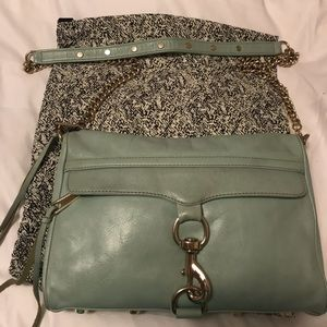 Rebecca Minkoff MAC Crossbody in Seaglass